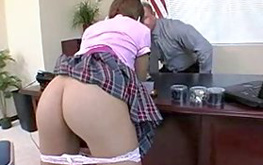 Fine sassy babe is pussy pounded deep and rough right from behind