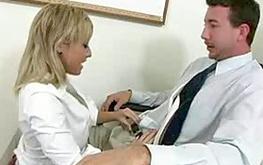 Sweet amazing blonde whore is riding a huge fat boner getting sweet pleasure