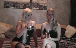 Two my dirty hobby girls are playing with nipples and pussies